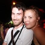 Olivier et sa Miss Sziget 2009